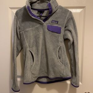 Patagonia gray small pullover